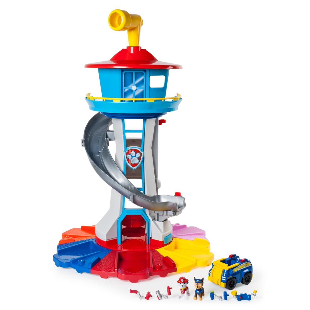 My Size Lookout Tower with Exclusive Vehicle, Rotating Periscope and Lights and Sounds