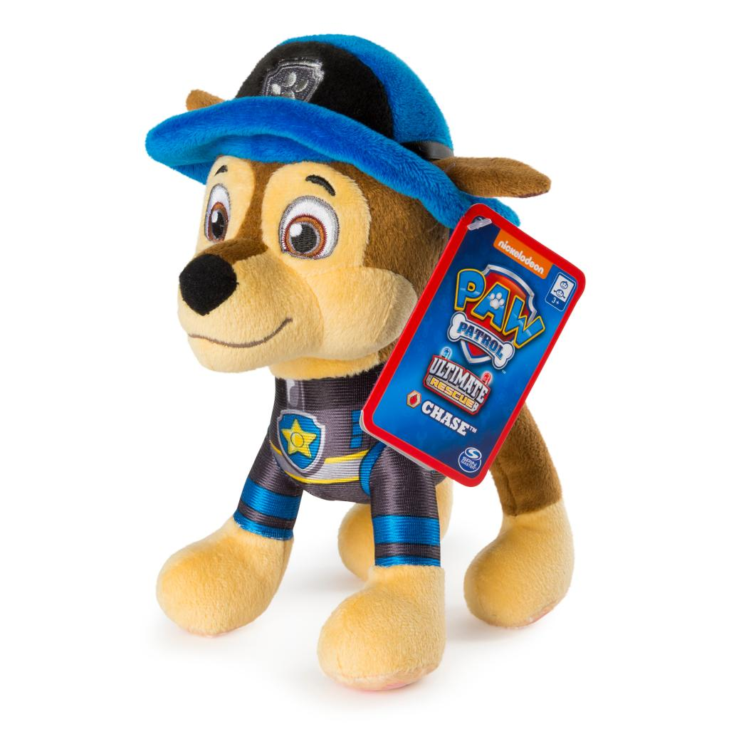 "PAW Patrol – 8"" Ultimate Rescue Chase Plush, for Ages 3 and Up"