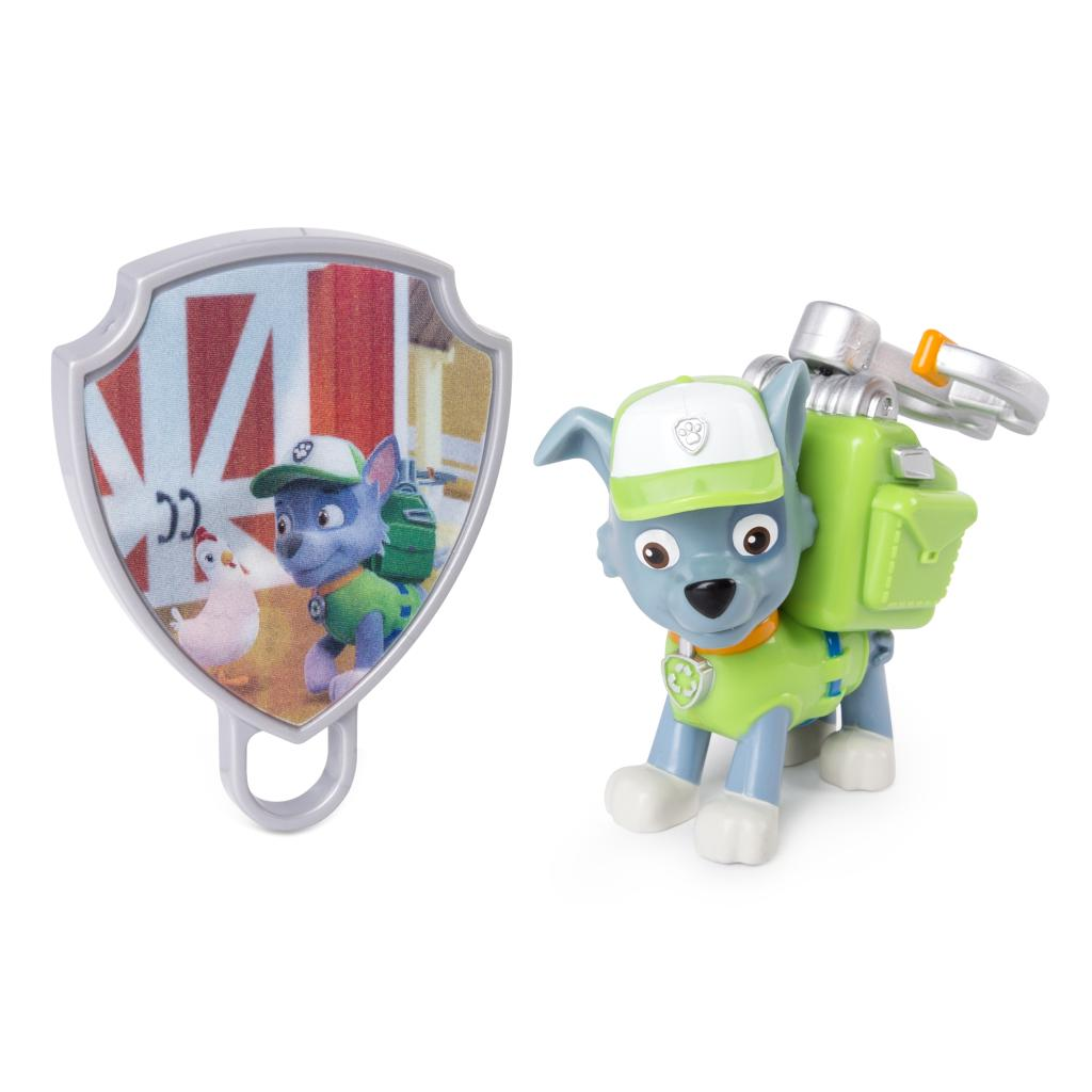 Action Pack Rocky with Extendable Hook and Pup Badge