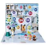 Paw Patrol - Advent Calendar with 24 Collectible Plastic Figures