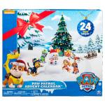 Paw Patrol - Advent Calendar with 24 Collectible Plastic Figures Details