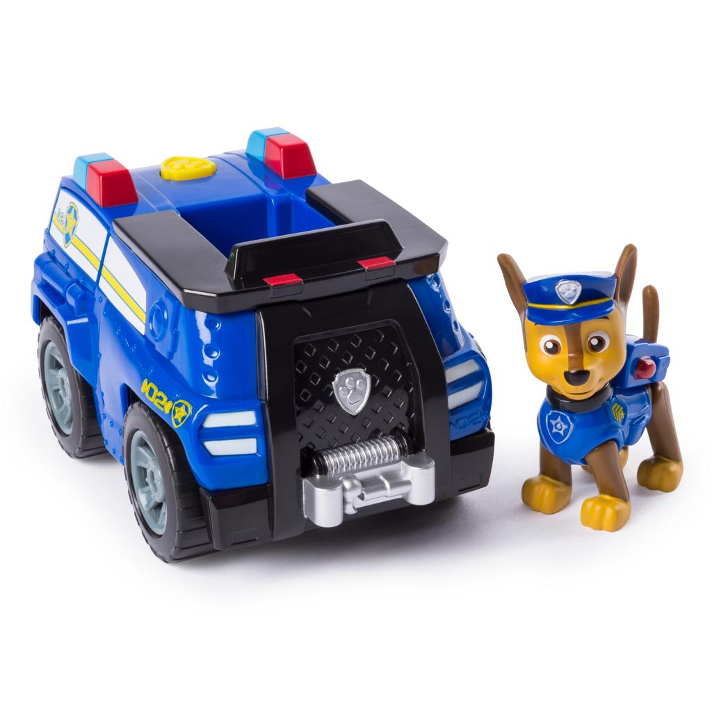 Chase's Transforming Police Cruiser