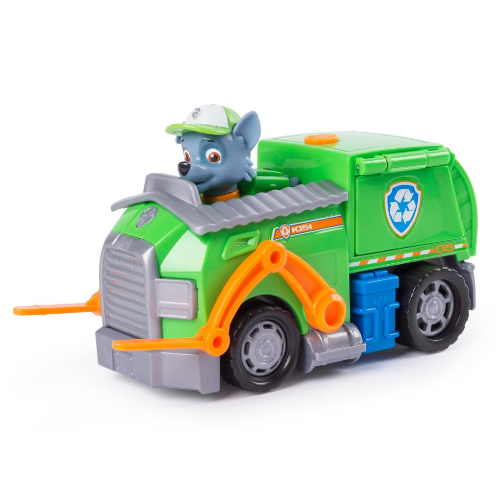 rocky s transforming recycle truck paw patrol