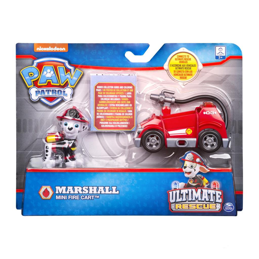 Spin Master Paw Patrol Marshall S Ultimate Rescue Mini Fire Cart