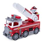 PAW Patrol Ultimate Rescue, Marshall's Ultimate Rescue Fire Truck with Moving Ladder and Flip-open Front Cab, for Ages 3 and Up Details