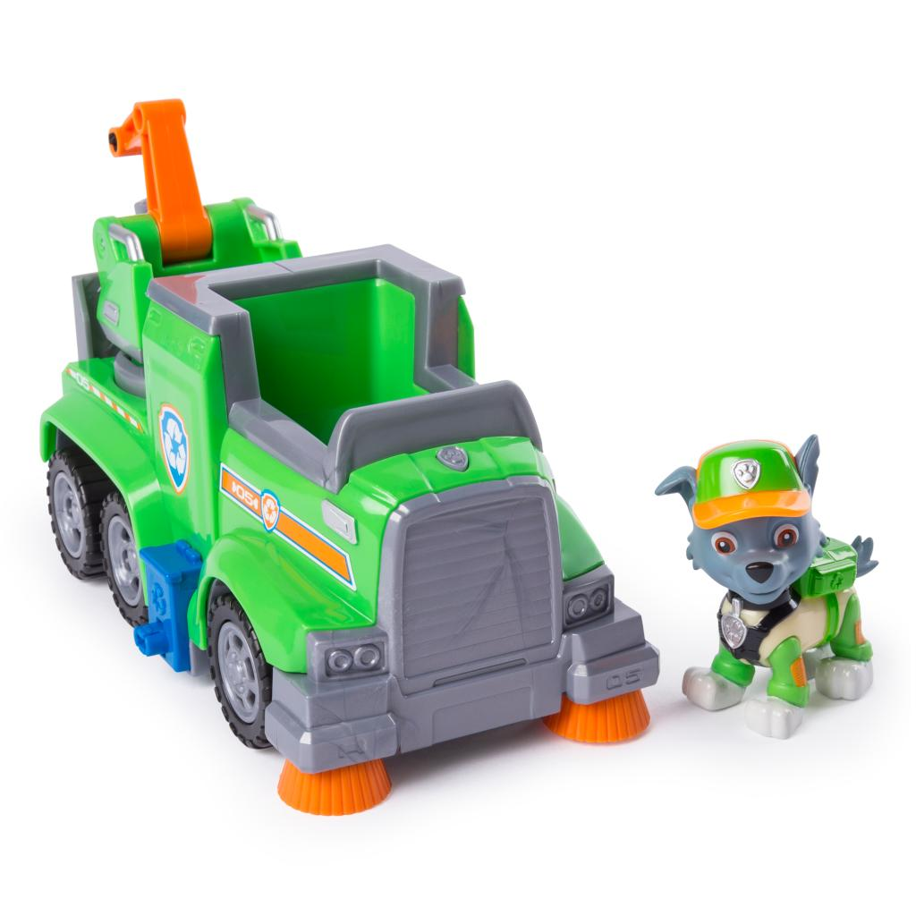 Rocky's Ultimate Rescue Recycling Truck