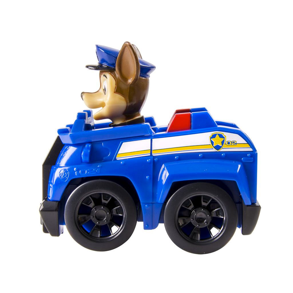 Spin master paw patrol rescue racer chase for Chaise auto