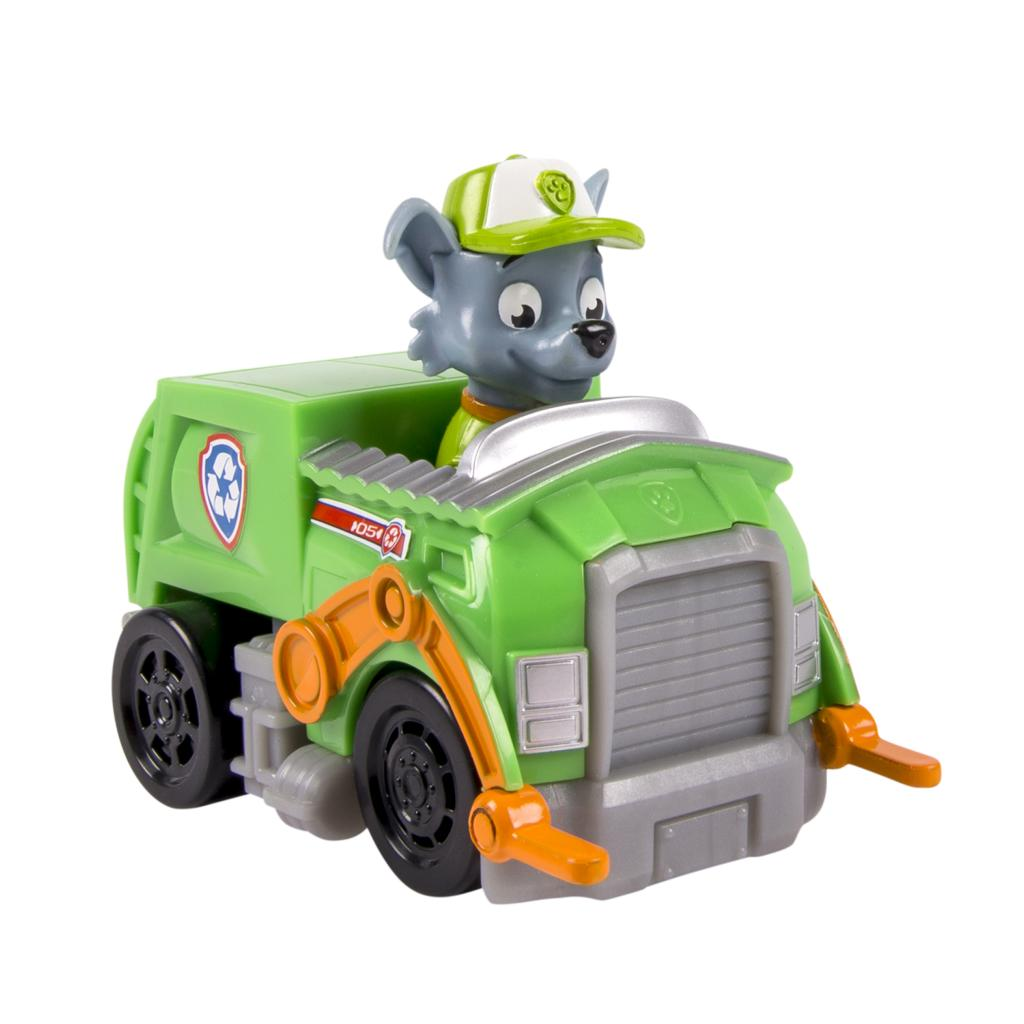 PAW Patrol Racers, Rocky's Recycling Truck Vehicle
