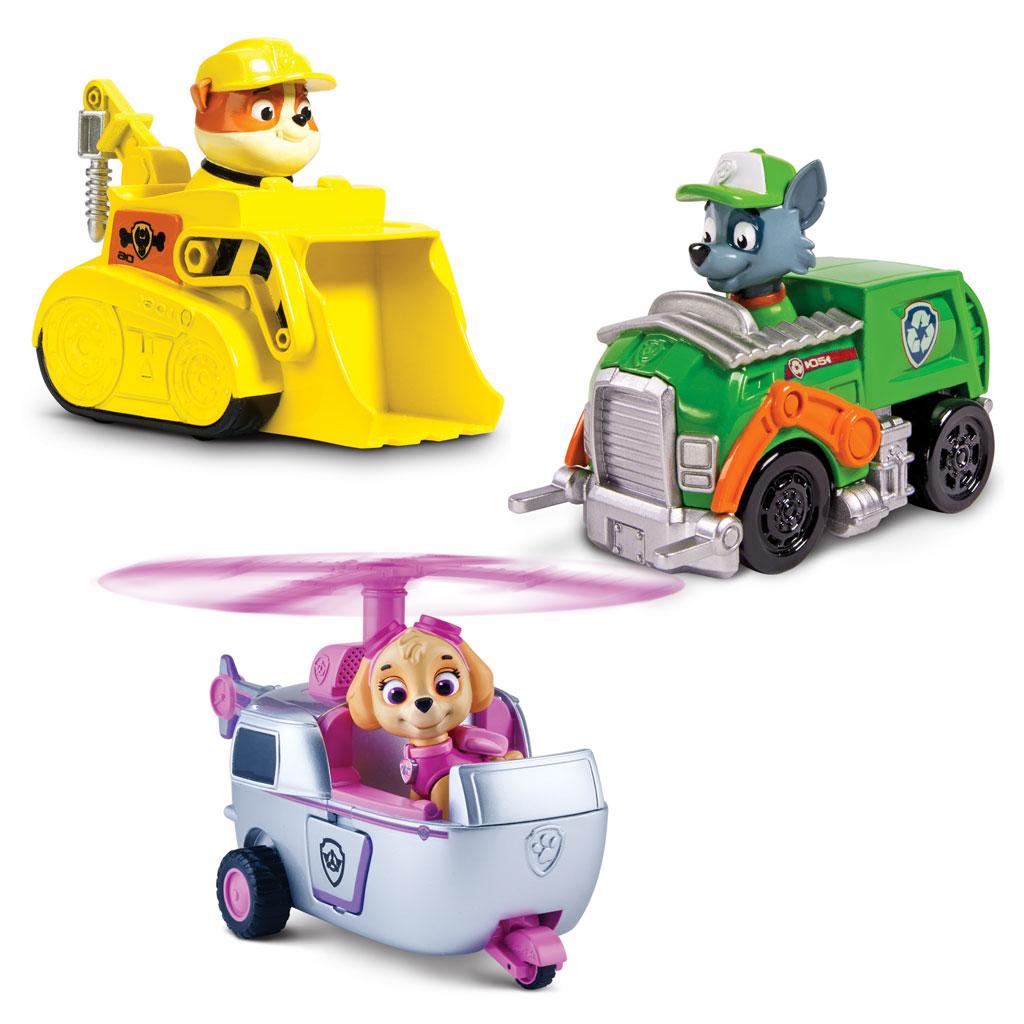 Rescue Racers 3pk - Rubble, Rocky, Skye