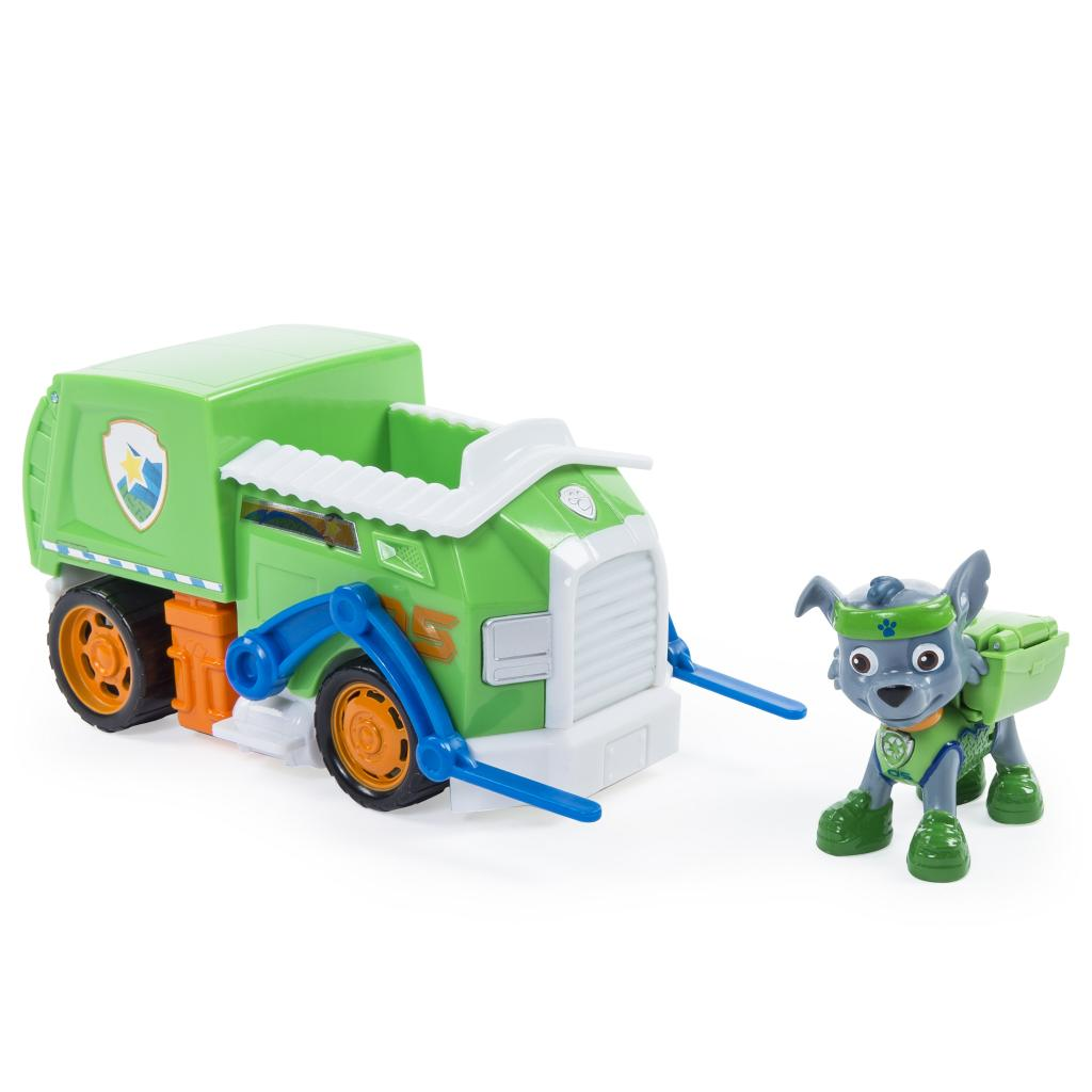 PAW Patrol - Rocky's All Stars Recycling Truck - Vehicle and Figure