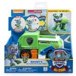 PAW Patrol - Rocky's All Stars Recycling Truck - Vehicle and Figure Details