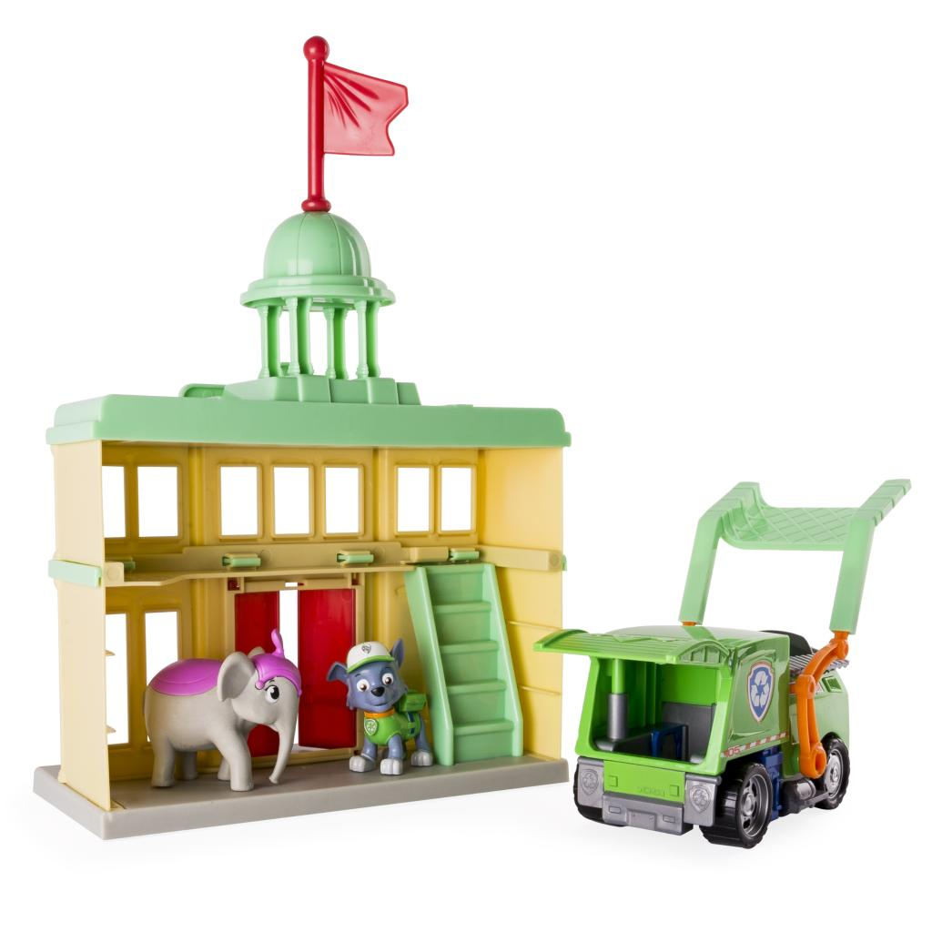 Toys 4 Trucks Green Bay : Paw patrol rocky s city hall rescue toys r us exclusive