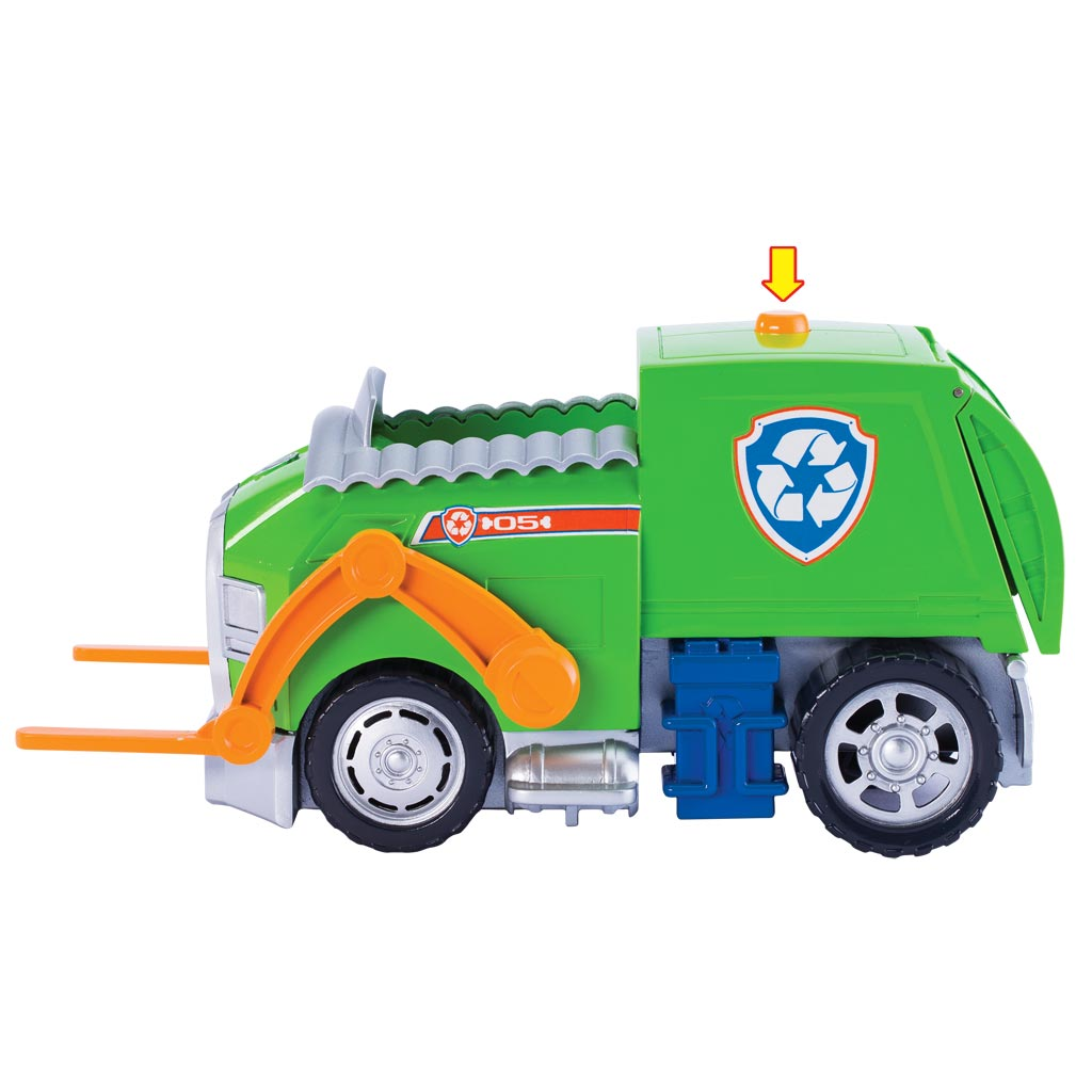 Toys 4 Trucks Green Bay : Rocky s lights and sounds recycling truck products paw