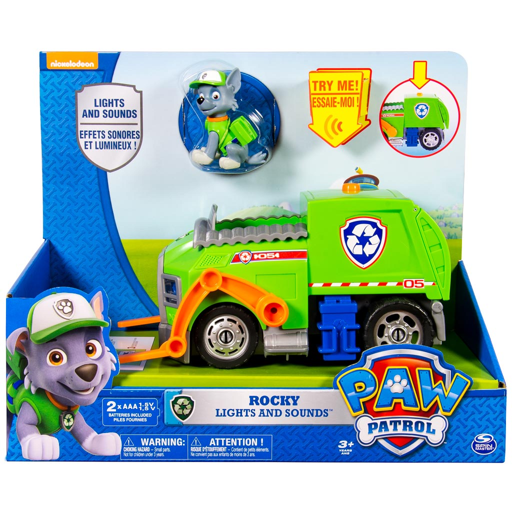 Spin Master Paw Patrol Rocky S Lights And Sounds
