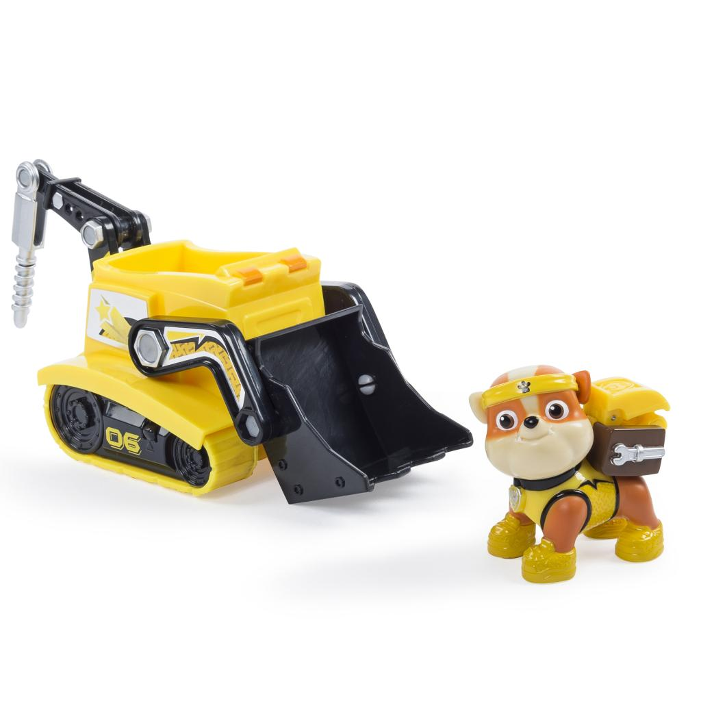 PAW Patrol - Rubble's All Stars Bulldozer- Vehicle and Figure