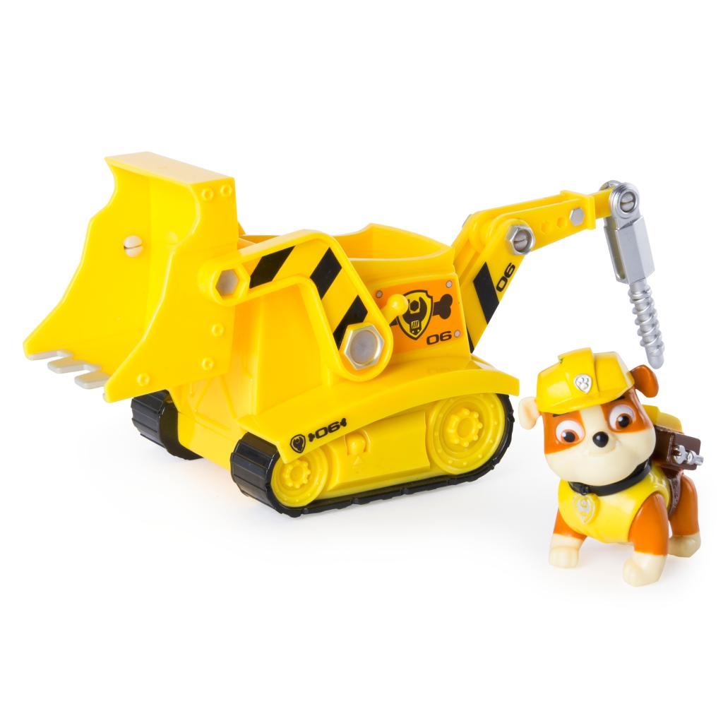 Rubble's Diggin' Bulldozer - Figure and Vehicle