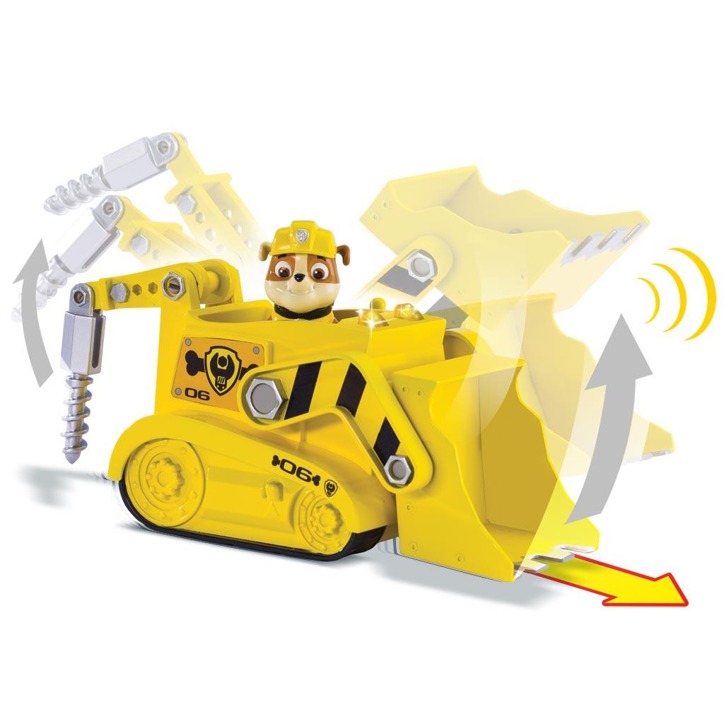 Spin Master Paw Patrol Rubble S Lights Amp Sounds Bulldozer