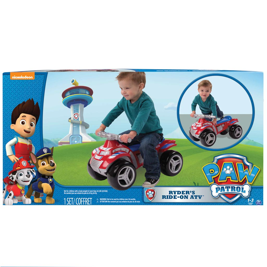 Ryder S Ride On Atv Paw Patrol