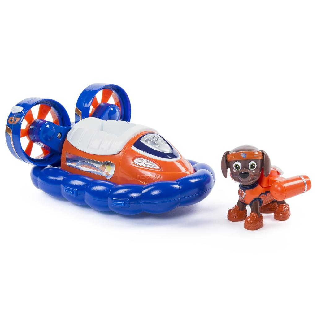 PAW Patrol - Zuma's All Stars Hovercraft - Vehicle and Figure