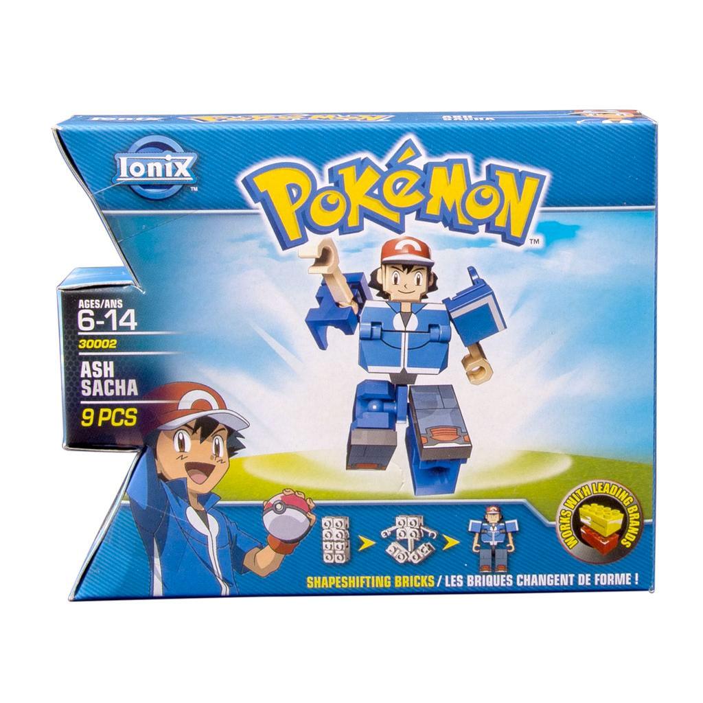 spin master ionix pokemon mini fig ash 30002