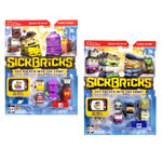 Sick Bricks, 10 Character Pack, Monsters vs. City/Space vs. Ninja