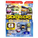 Sick Bricks - Sick Team 5 Character Pack - City vs Monster