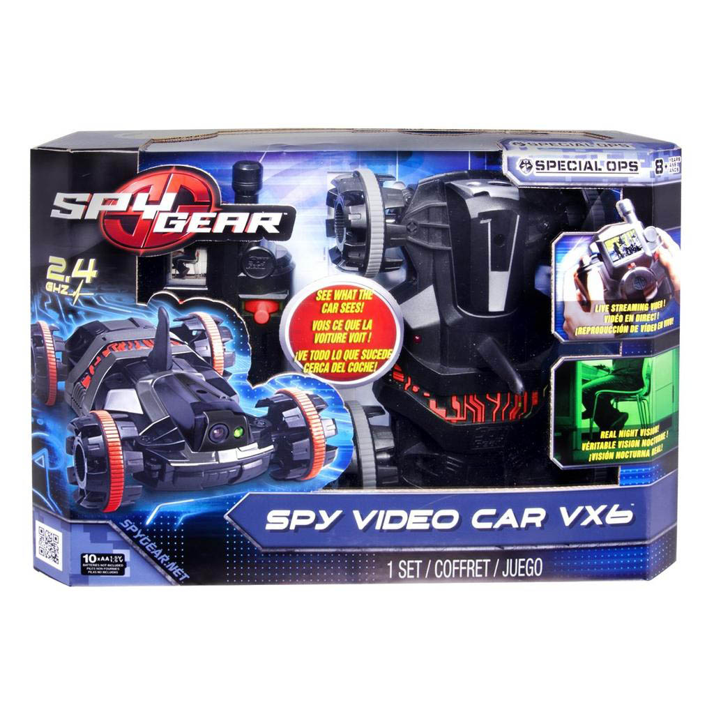 Spy Gear Spy Video Car VX6