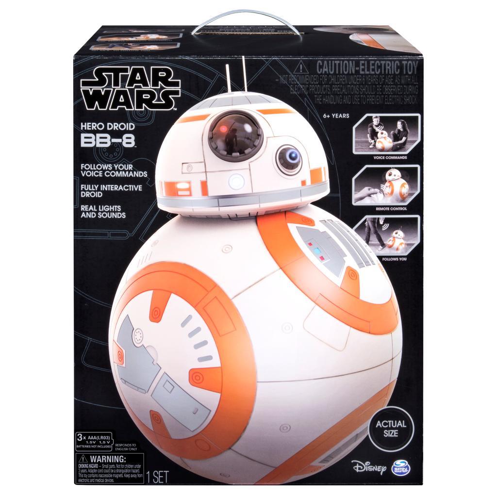 Spin Master - Star Wars Star Wars Hero Droid BB 8 Fully Interactive