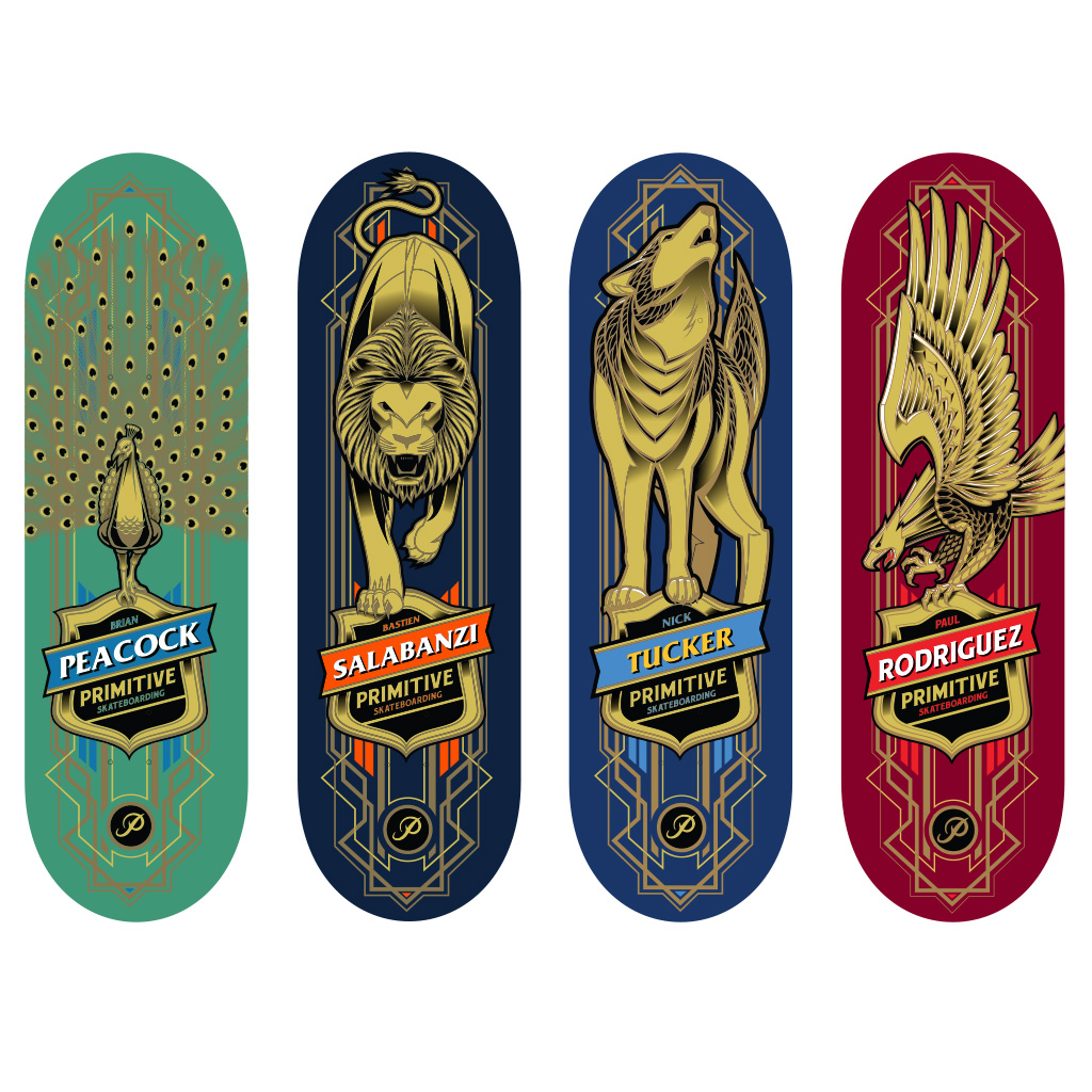 Spin Master Tech Deck 96mm Fingerboard 4 Pack Primitive