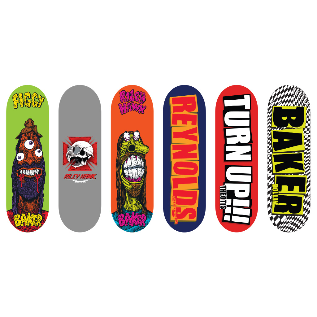 Spin Master Tech Deck 96mm Fingerboard Baker Series