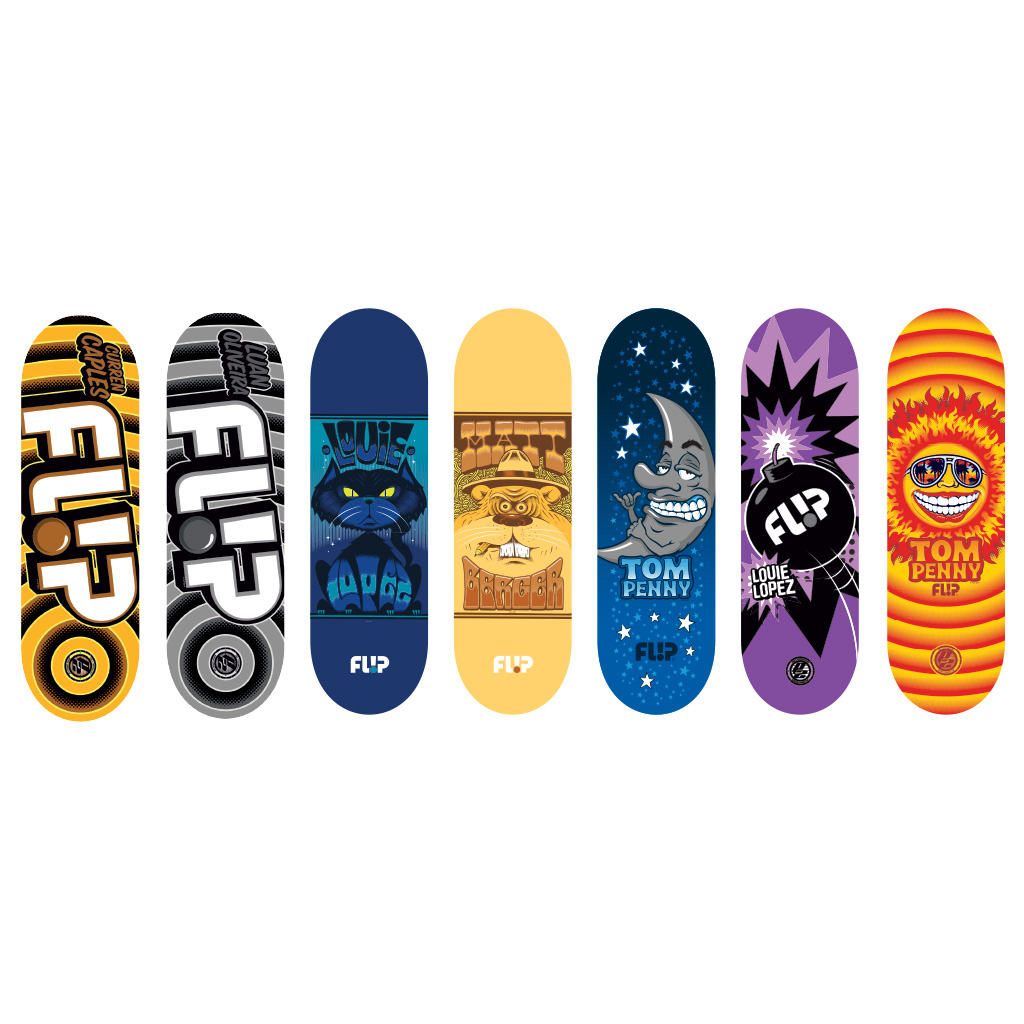 Spin Master Tech Deck 96mm Fingerboard Flip Series