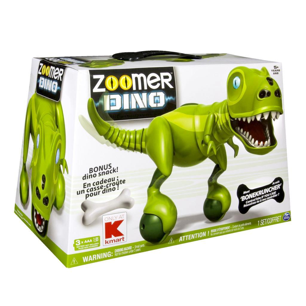 Zoomer Dino Bonekruncher Kmart Exclusive Products Zoomer